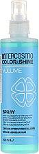 Парфюмерия и Козметика Спрей за коса, без отмиване - Intercosmo Color & Shine Volume Spray