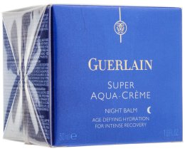 Парфюми, Парфюмерия, козметика Крем за лице - Guerlain Super Aqua Night Balm