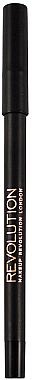Контуриращ молив за очи - Makeup Revolution HD Pro Smoky Waterproof Eyeliner — снимка N1