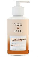 Парфюмерия и Козметика Почистващ подхранващ лосион за лице - You & Oil Nourish & Nurture Face Wash