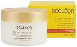 Подхранващ крем за тяло - Decleor Aroma Nutrition Nutrition Riche body Cream — снимка N2