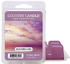 Парфюмерия и Козметика Ароматен восък - Country Candle Daydreams Wax Melts