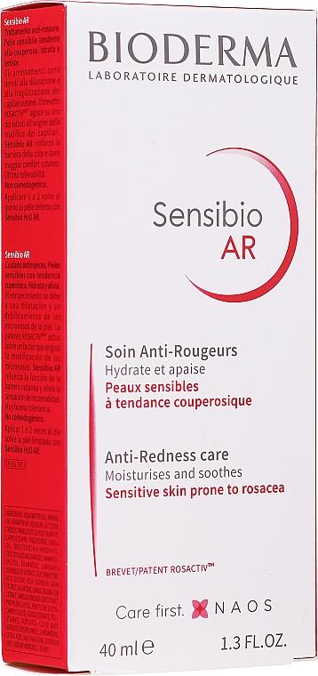 Крем за чувствителна кожа със склонност към зачервявания - Bioderma Sensibio AR Anti-Redness Cream