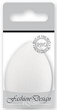 Парфюмерия и Козметика Гъба за фон дьо тен, 36767, бяла, - Top Choice Foundation Sponge Blender