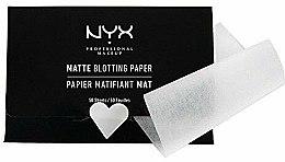 """Парфюми, Парфюмерия, козметика Матиращи листчета за лице """"Matte Blotting"""" - NYX Professional Makeup Blotting Paper"""