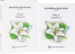"""Парфюмерия и Козметика Памучна маска за лице """"Италия"""" - Calluna Medica Italy Anti-Spot Biocellulose Facial Mask"""
