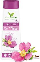 Парфюмерия и Козметика Ултра нежен душ гел с шипка - Cosnature Shower Gel Wild Rose