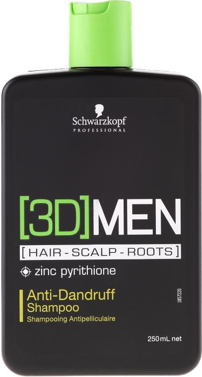 Шампоан против пърхот - Schwarzkopf Professional 3D Mension Anti-Dandruff Shampoo