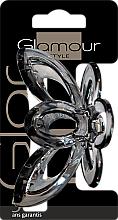 Парфюмерия и Козметика Щипка за коса, 417695, черна - Glamour