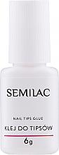 Парфюмерия и Козметика Лепило за изкуствени нокти - Semilac Nail Tip Glue