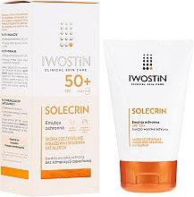 Парфюмерия и Козметика Слъцезащитна емулсия SPF50+ - Iwostin Solecrin Emulsion SPF50+