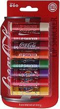 Комплект балсами за устни - Lip Smacker Coca-Cola Party Pack (balm/8x4g) — снимка N1