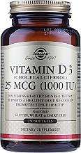 """Парфюмерия и Козметика Хранителна добавка """"Витамин D"""" - Solgar Vitamin D3 1000 IU Cholecalciferol"""