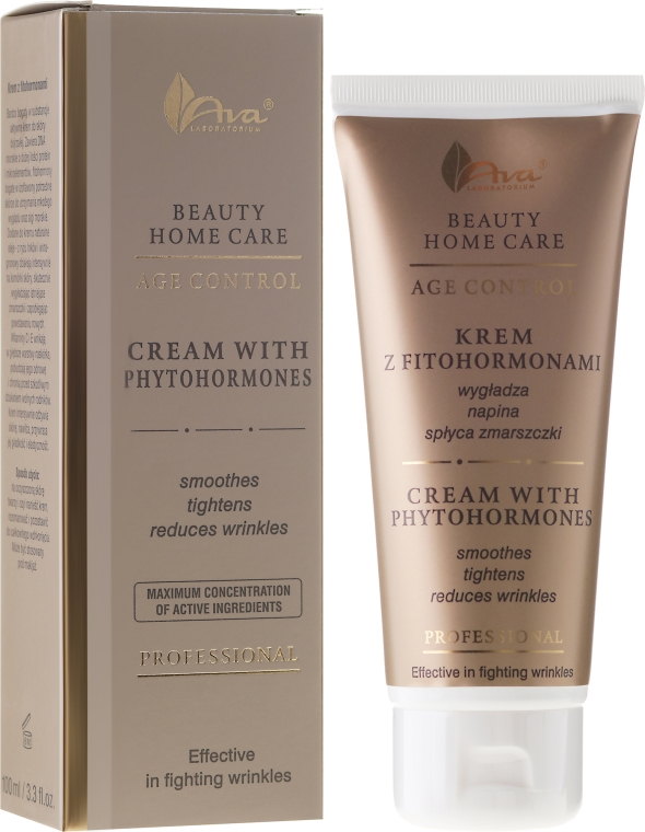 Крем за лице с фитохормони - Ava Laboratorium Beauty Home Care Cream With Phytohormones — снимка N1