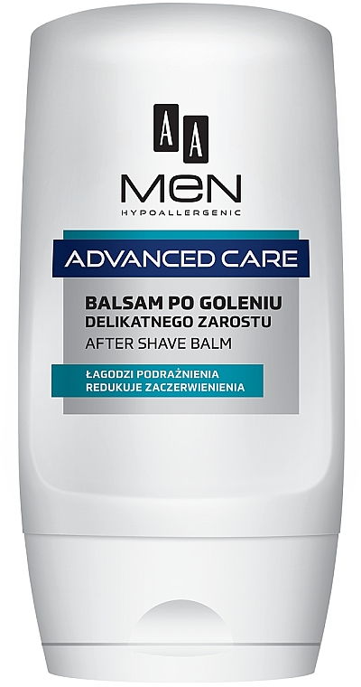 Балсам за след бръснене за чувствителна кожа - AA Men Advanced Care After Shave Balm For Delicate Facial Hair