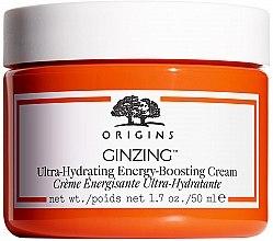Парфюмерия и Козметика Хидратиращ крем за лице - Origins GinZing Ultra-Hydrating Energy-Boosting Cream