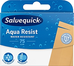 Парфюмерия и Козметика Водоустойчиви пластири, 75 см - Salvequick Aqua Resist
