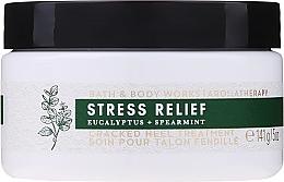 Парфюмерия и Козметика Крем за напукани пети с евкалипт и мента - Bath and Body Works Stress Relief Cracked Heel Treatment