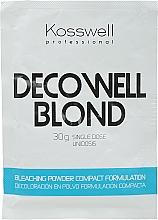Парфюмерия и Козметика Изсветляваща пудра за коса - Kosswell Professional Decowell Blond
