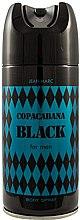 Парфюми, Парфюмерия, козметика Дезодорант за мъже - Jean Marc Copacabana Black For Men