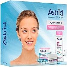 Парфюмерия и Козметика Комплект за лице - Astrid Aqua Biotic Set (крем/50ml+мицел. вода/400ml)