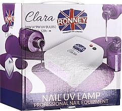 Парфюмерия и Козметика UV лампа за маникюр, светлолилава - Ronney Profesional Clara UV 36W (GY-UV-818) Lamp