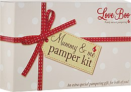Парфюми, Парфюмерия, козметика Комплект - Love Boo Mummy & Me Pamper Kit (b/lot/50ml + sh/gel/shm/50ml + b/oil/15ml + oil/100ml + b/lot/250ml)