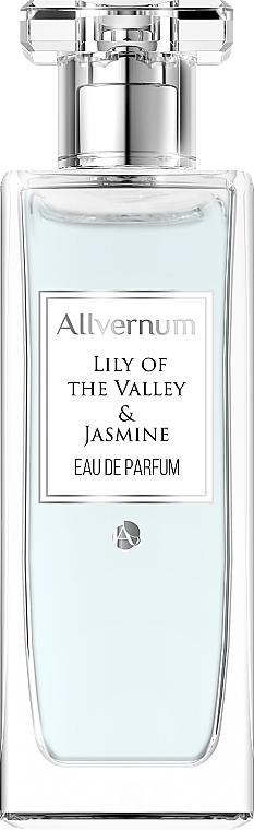 Allvernum Lilly & Jasmine Gift Set - Комплект (парф.вода/50ml + свещ/100g) — снимка N2