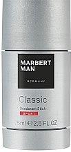 Парфюмерия и Козметика Стик дезодорант - Marbert Man Classic Sport Deo Stick