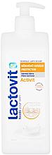 Парфюмерия и Козметика Защитно мляко за тяло - Lactovit Activit