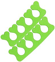 Парфюмерия и Козметика Разделител за педикюр 00524, зелен - Ronney Professional Finger Separator