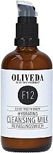 Парфюмерия и Козметика Почистващо и хидратиращо мляко за лице - Oliveda F12 Cleansing Milk Hydrating
