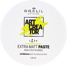 Парфюмерия и Козметика Паста за коса с екстра матиращ ефект - Brelil Art Creator Extra Matt Paste