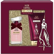 Парфюмерия и Козметика Naomi Campbell Pret a Porter Absolute Velvet - Комплект (тоал. вода/15ml + лос. за тяло/50ml)