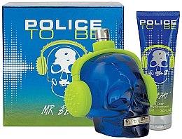 Парфюмерия и Козметика Police To Be Mr Beat - Комплект (тоал. вода/75ml + душ гел/100ml)