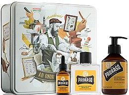 Парфюмерия и Козметика Комплект - Proraso Wood & Spice Beard Kit (balm/100ml + shmp/200ml + oil/30ml)