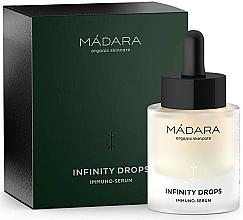 Парфюмерия и Козметика Серум за лице - Madara Cosmetics Infinity Drops Immuno-Serum