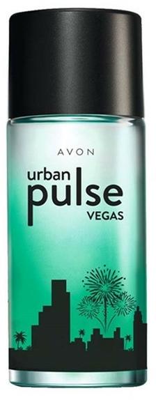 Avon Urban Pulse Vegas - Тоалетна вода — снимка N1