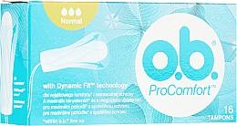 Парфюмерия и Козметика Дамски тампони, 16 бр - o.b. ProComfort Normal Tampons