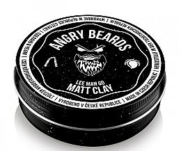 Парфюмерия и Козметика Глина за коса - Angry Beards Lee Man Go Matt Clay