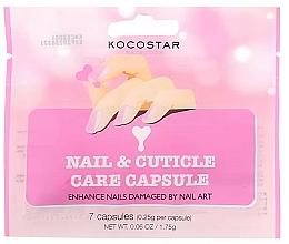Парфюмерия и Козметика Серум за нокти и кутикули - Kocostar Nail & Cuticle Care Capsule