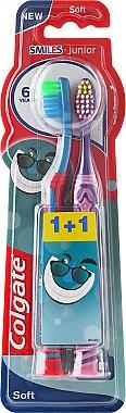 Комплект детски четки за зъби 6+ - Colgate Kids Soft Toothbrush — снимка N1