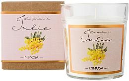 "Парфюмерия и Козметика Ароматна свещ ""Мимоза"" - Ambientair Le Jardin de Julie Mimosa"