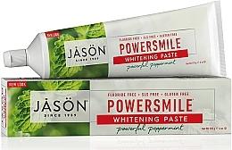Парфюмерия и Козметика Избелваща паста за зъби - Jason Natural Cosmetics PowerSmile All Natural Whitening Toothpaste