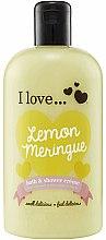 Парфюми, Парфюмерия, козметика Душ крем и пяна за вана с аромат на лимонов тарт - I Love... Lemon Meringue Bath And Shower Cream