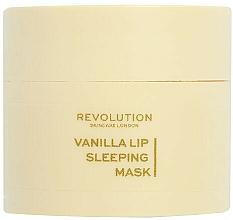 Парфюмерия и Козметика Нощна маска за устни с аромат на ванилия - Revolution Skincare Vanilla Lip Sleeping Mask