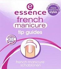 Парфюмерия и Козметика Шаблони за френския маникюр - Essence French Manicure Tip Gu