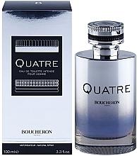 Парфюмерия и Козметика Boucheron Quatre Boucheron Intense Pour Homme - Тоалетна вода