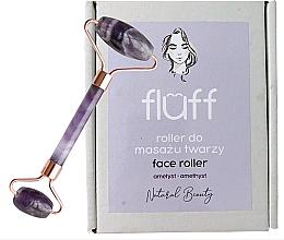 Парфюмерия и Козметика Масажор за лице от аметист - Fluff Face Roller Ametyst