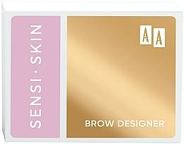 Парфюмерия и Козметика Палитра за вежди - AA Sensi Skin Brow Designer